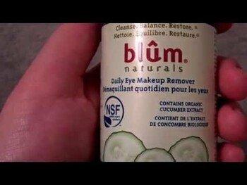 Видео обзор на Блюм Нейчералс Для снятия макияжа с глаз