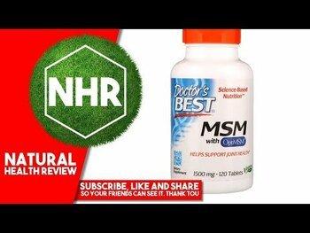 Видео обзор на МСМ 1500 мг 120 таблеток