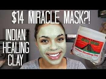 Видео обзор на Индийская лечебная глина маска для лица 454 г