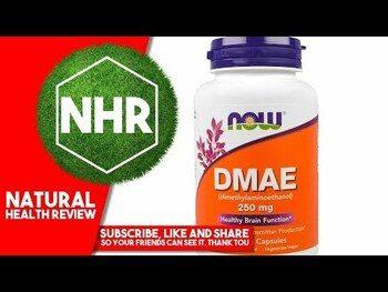 Видео обзор на Диметиламиноэтанол 250 мг 100 капсул