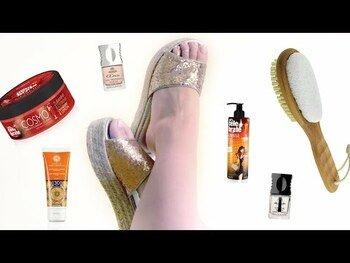 Видео обзор на Щетка для стоп ног