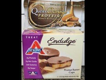 Видео обзор на Аткинс печенье с арахисовым маслом 5 пакетиков 34 г каждый