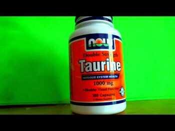 Видео обзор на Таурин двойная прочность 1000 мг 250 капсул