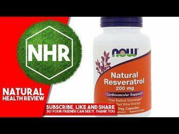 Видео обзор на натуральный Ресвератрол 200 мг 120 капсул