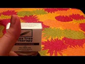 Видео обзор на Чайная терапия Суппозитории с маслом чайного дерева для гигиен...