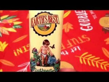 Видео обзор на Детская зубная паста без фтора клубника и банан 45 г