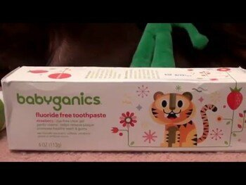 Видео обзор на Детская зубная паста без фтора со вкусом арбуза 113 г