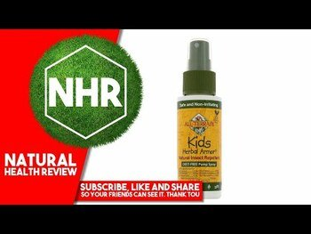 Видео-обзор и фото товара All Terrain Kids Herbal Armor Natural Insect Repellent 59 ml