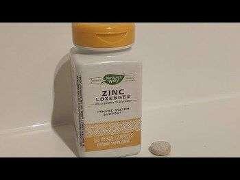 Видео обзор на Zinc Lozenges Wild Berry Flavored 60 Vegan Lozenges