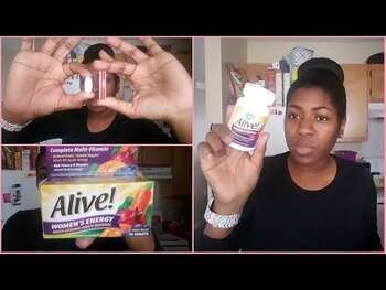 Видео обзор на Нэйчерс Вэй Alive Once Daily Womens 50 Multi Vitamin 60 Tablets