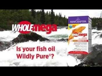 Видео обзор на Нью Чаптер Рыбий жир из аляскинского лосося 120 гелевых капсул