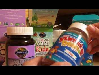 Видео обзор на Витаминный код Жевательные мультивитамины для детей из цельных...