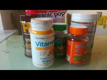Видео обзор на Витамин С для детей апельсиновый вкус 60 жевательных конфет