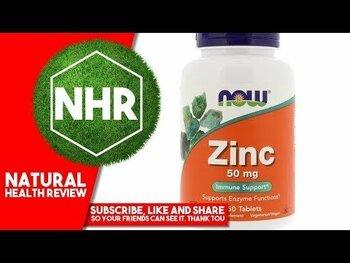 Видео обзор на Цинк 50 мг 250 таблеток