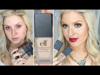 Видео обзор на Е.Л.Ф. Основа для макияжа с безупречным покрытием без масла SP...