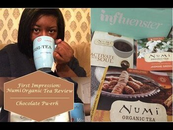 Видео обзор на Органический чай Pu • Erh Tea Chocolate Pu • Erh 16 чайных пак...