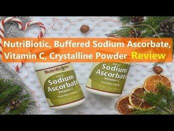 Видео обзор на Буферизированный витамин С аскорбат натрия кристаллический пор...