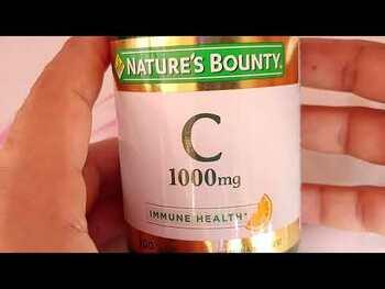 Видео обзор на Vitamin C with Rose Hips 1000 mg 100 Coated Caplets