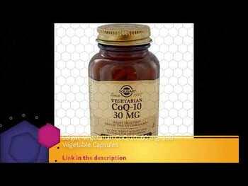 Видео обзор на Вегетарианский CoQ-10 60 мг 180 растительных капсул