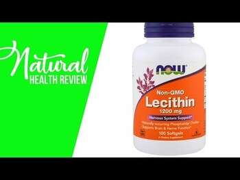 Видео обзор на Соевый Лецитин 1200 мг 100 гелевых капсул