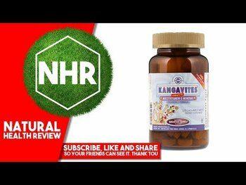 Видео обзор на Кангавитес Мультивитамины и минералы для детей 120 таблеток