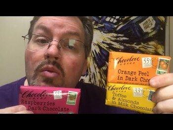 Видео обзор на Шоколав Ирис и миндаль молочный шоколад 90 гр