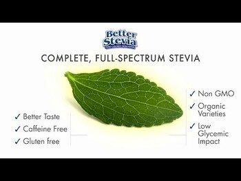 Видео обзор на Стевия Подсластитель без калорий 100 пакетов 100 г